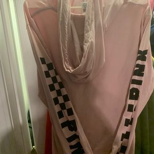 Victoria Secrets (PINK) long sleeve hoodie